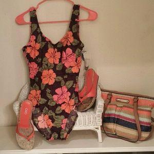 Catalina swimsuit.  12-14